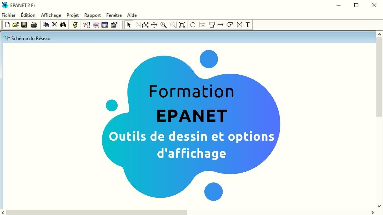 Read more about the article Formation EPANET : Outils de dessin et options d'affichage